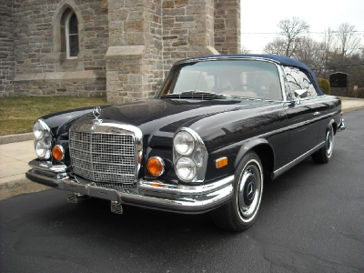 1971 Mercedes Benz 280 SE 3.5