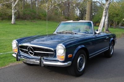 1969 Mercedes Benz 280SL (AIR & AUTO)