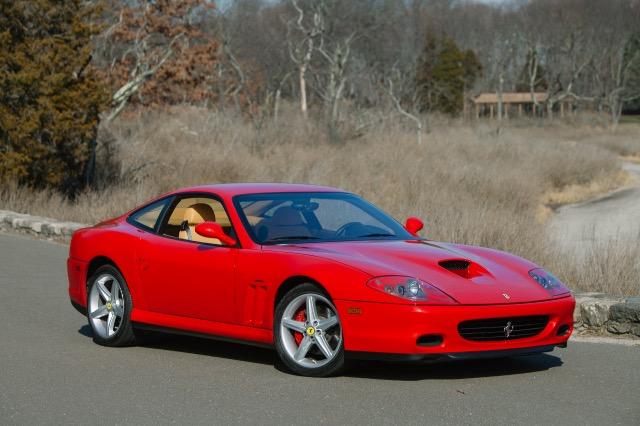 2002 Ferrari 575M Maranello 6 Speed