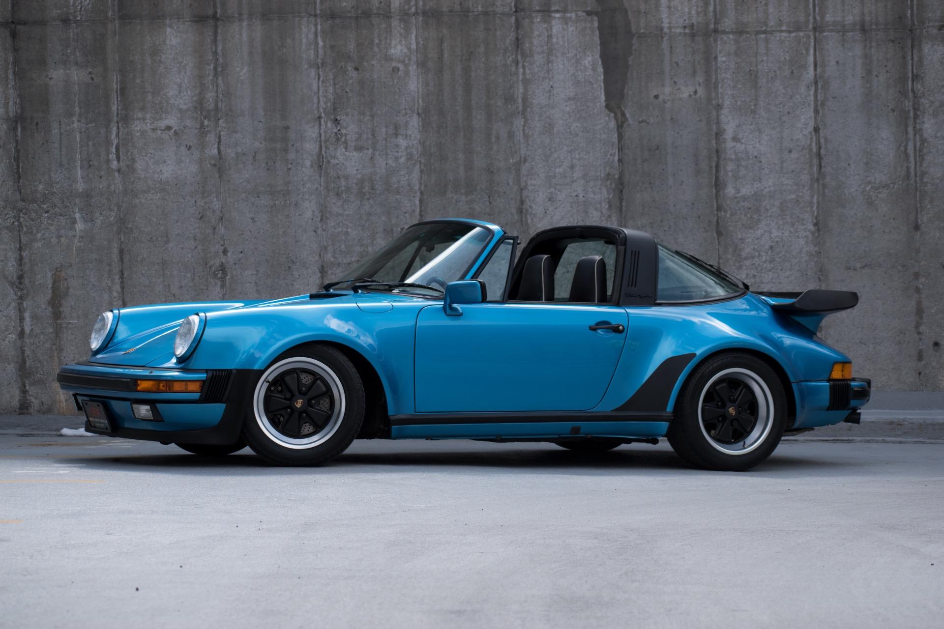 1989 porsche 911 turbo look targa -