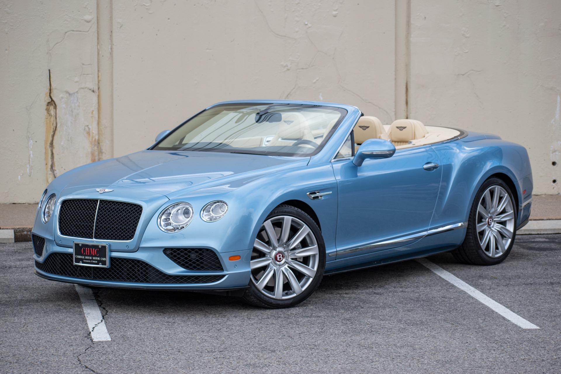 2017 Bentley Continental GTC V8S